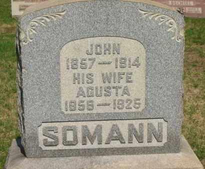 SOMANN, AGUSTA - Lorain County, Ohio | AGUSTA SOMANN - Ohio Gravestone Photos