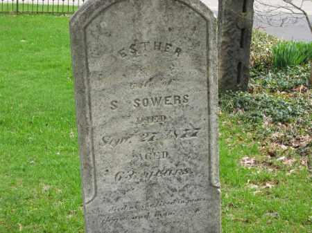 SOWERS, ESTHER - Lorain County, Ohio   ESTHER SOWERS - Ohio Gravestone Photos