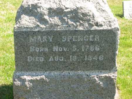 SPENCER, MARY - Lorain County, Ohio   MARY SPENCER - Ohio Gravestone Photos