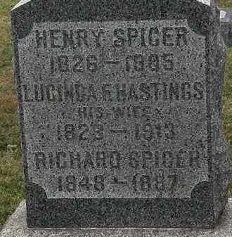 HASTINGS SPICER, LUCINDA F. - Lorain County, Ohio | LUCINDA F. HASTINGS SPICER - Ohio Gravestone Photos