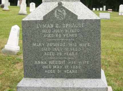 NESBIT SPRAGUE, ANNA - Lorain County, Ohio | ANNA NESBIT SPRAGUE - Ohio Gravestone Photos