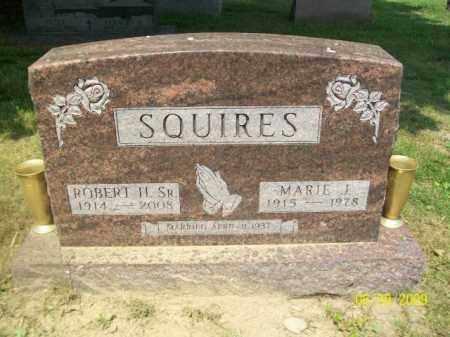 SQUIRES, SR., ROBERT H. - Lorain County, Ohio | ROBERT H. SQUIRES, SR. - Ohio Gravestone Photos