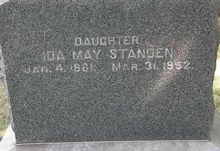 WATSON STANDEN, IDA MAY - Lorain County, Ohio | IDA MAY WATSON STANDEN - Ohio Gravestone Photos