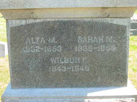 STARR, WILBUR F. - Lorain County, Ohio | WILBUR F. STARR - Ohio Gravestone Photos