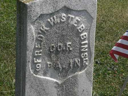 STEBBINS, FRED'K W. - Lorain County, Ohio | FRED'K W. STEBBINS - Ohio Gravestone Photos