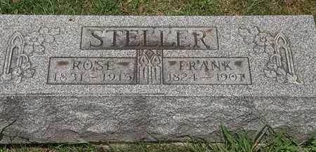 STELLER, FRANK - Lorain County, Ohio | FRANK STELLER - Ohio Gravestone Photos