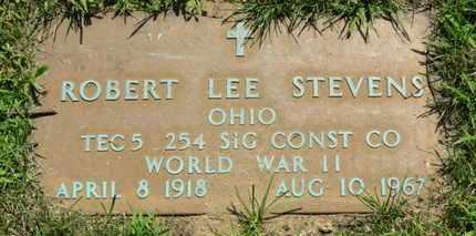 STEVENS, ROBERT LEE - Lorain County, Ohio   ROBERT LEE STEVENS - Ohio Gravestone Photos