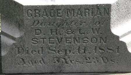 STEVENSON, GRACE MARIAN - Lorain County, Ohio | GRACE MARIAN STEVENSON - Ohio Gravestone Photos