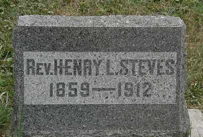 STEVES, HENRY L. - Lorain County, Ohio   HENRY L. STEVES - Ohio Gravestone Photos