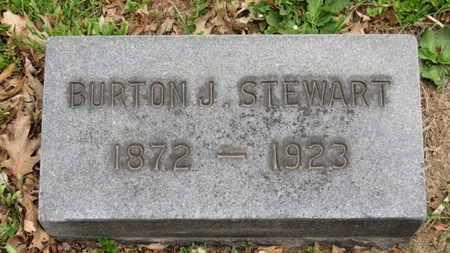 STEWART, BURTON J. - Lorain County, Ohio | BURTON J. STEWART - Ohio Gravestone Photos