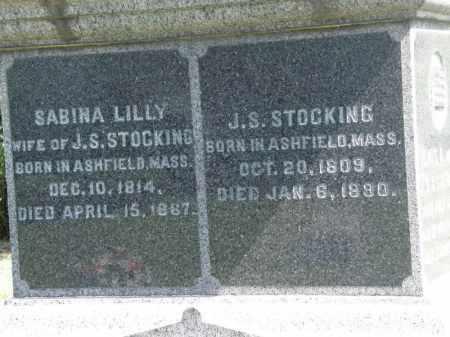 STOCKING, SABINA - Lorain County, Ohio | SABINA STOCKING - Ohio Gravestone Photos