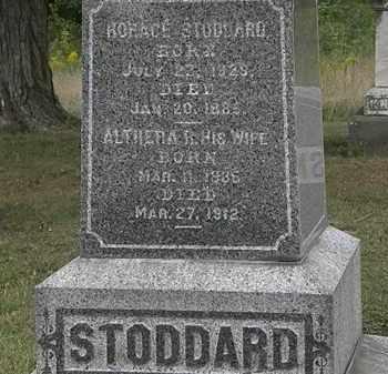 STODDARD, ALTHERA R. - Lorain County, Ohio | ALTHERA R. STODDARD - Ohio Gravestone Photos