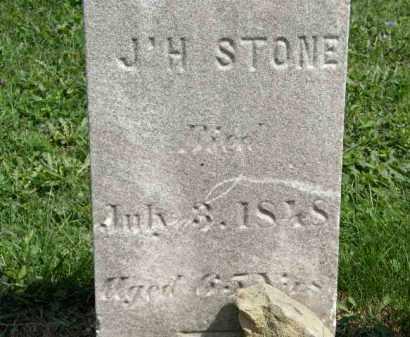 STONE, J. H. - Lorain County, Ohio   J. H. STONE - Ohio Gravestone Photos