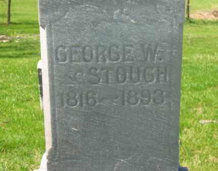STOUGH, GEORGE W. - Lorain County, Ohio | GEORGE W. STOUGH - Ohio Gravestone Photos