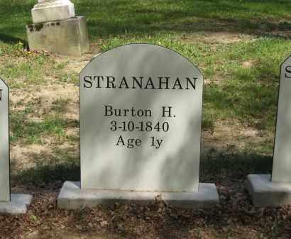 STRANAHAN, BURTON H. - Lorain County, Ohio   BURTON H. STRANAHAN - Ohio Gravestone Photos
