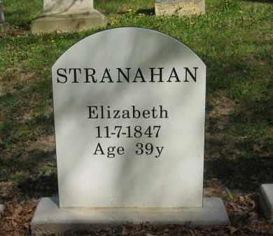 STRANAHAN, ELIZABETH - Lorain County, Ohio | ELIZABETH STRANAHAN - Ohio Gravestone Photos