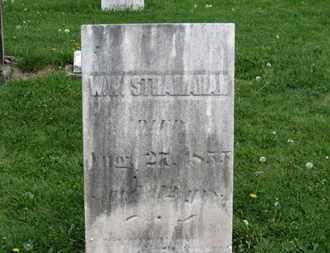 STRANAHAN, W.W. - Lorain County, Ohio | W.W. STRANAHAN - Ohio Gravestone Photos