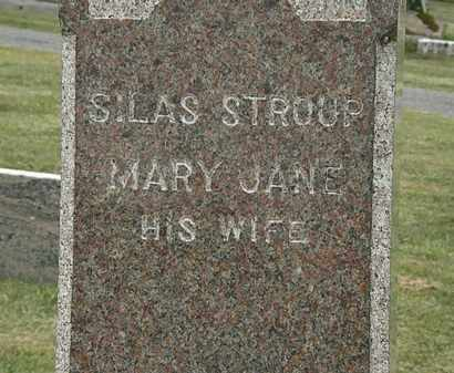 STROUP, SILAS - Lorain County, Ohio | SILAS STROUP - Ohio Gravestone Photos