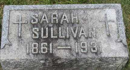 SULLIVAN, SARAH - Lorain County, Ohio | SARAH SULLIVAN - Ohio Gravestone Photos