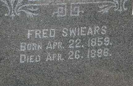 SWIEARS, FRED - Lorain County, Ohio | FRED SWIEARS - Ohio Gravestone Photos