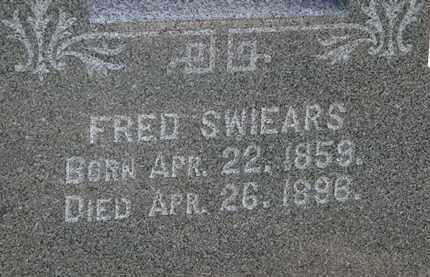 SWIERS, FRED - Lorain County, Ohio | FRED SWIERS - Ohio Gravestone Photos