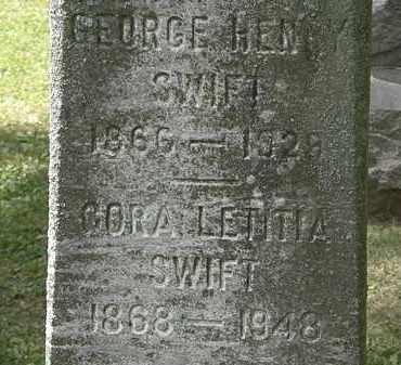 SWIFT, GEORGE HENRY - Lorain County, Ohio | GEORGE HENRY SWIFT - Ohio Gravestone Photos