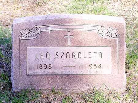 SZAROLETA, LEO - Lorain County, Ohio | LEO SZAROLETA - Ohio Gravestone Photos