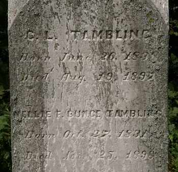 TAMBLING, C.L. - Lorain County, Ohio | C.L. TAMBLING - Ohio Gravestone Photos