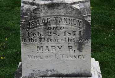 TANNEY, ISAAC - Lorain County, Ohio | ISAAC TANNEY - Ohio Gravestone Photos
