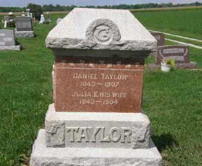 TAYLOR, JULIA E. - Lorain County, Ohio | JULIA E. TAYLOR - Ohio Gravestone Photos
