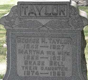 TAYLOR, GEORGE H. - Lorain County, Ohio | GEORGE H. TAYLOR - Ohio Gravestone Photos