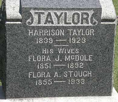 TAYLOR, FLORA A. - Lorain County, Ohio | FLORA A. TAYLOR - Ohio Gravestone Photos