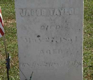 TAYLOR, JACOB - Lorain County, Ohio | JACOB TAYLOR - Ohio Gravestone Photos