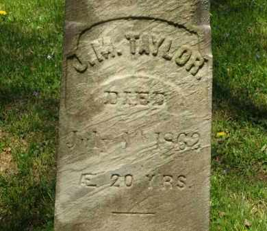 TAYLOR, J. M. - Lorain County, Ohio   J. M. TAYLOR - Ohio Gravestone Photos