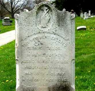 TAYLOR, MATHEW - Lorain County, Ohio   MATHEW TAYLOR - Ohio Gravestone Photos