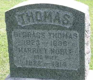 THOMAS, HARRIET - Lorain County, Ohio | HARRIET THOMAS - Ohio Gravestone Photos