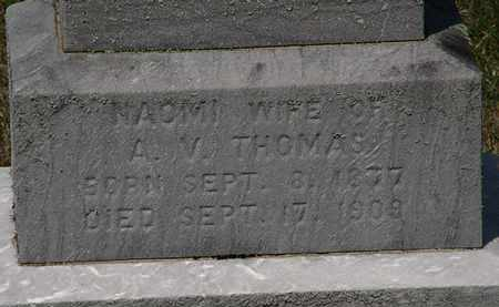 THOMAS, A.V. - Lorain County, Ohio | A.V. THOMAS - Ohio Gravestone Photos