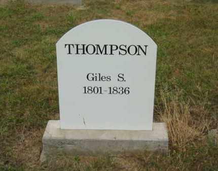THOMPSON, GILES S. - Lorain County, Ohio | GILES S. THOMPSON - Ohio Gravestone Photos