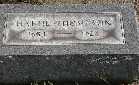 THOMPSON, HATTIE - Lorain County, Ohio | HATTIE THOMPSON - Ohio Gravestone Photos