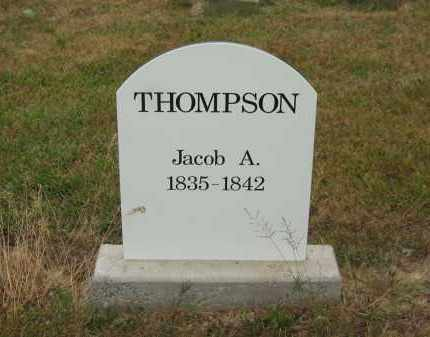 THOMPSON, JACOB A. - Lorain County, Ohio   JACOB A. THOMPSON - Ohio Gravestone Photos