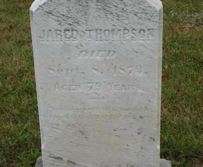 THOMPSON, JARED - Lorain County, Ohio | JARED THOMPSON - Ohio Gravestone Photos