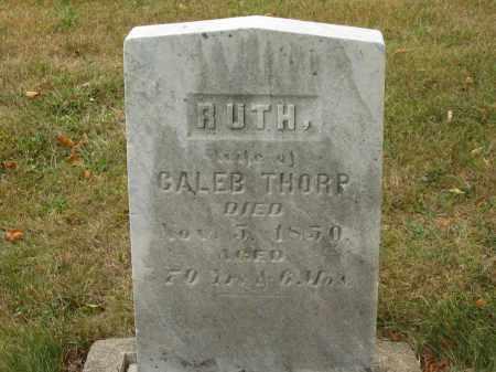 THORP, RUTH - Lorain County, Ohio | RUTH THORP - Ohio Gravestone Photos