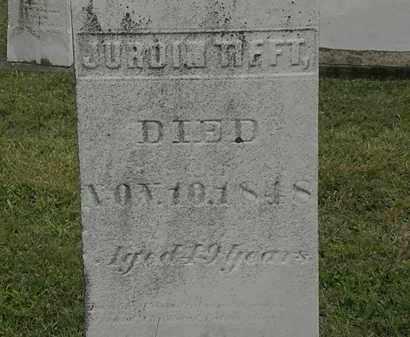 TIFFT, JURDIN - Lorain County, Ohio   JURDIN TIFFT - Ohio Gravestone Photos