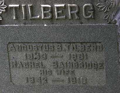 TILBERG, AUGUSTUS S. - Lorain County, Ohio | AUGUSTUS S. TILBERG - Ohio Gravestone Photos