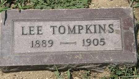 TOMPKINS, LEE - Lorain County, Ohio | LEE TOMPKINS - Ohio Gravestone Photos