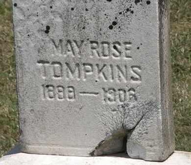 TOMPKINS, MAY ROSE - Lorain County, Ohio | MAY ROSE TOMPKINS - Ohio Gravestone Photos