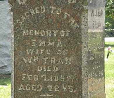 TRAN, EMMA - Lorain County, Ohio | EMMA TRAN - Ohio Gravestone Photos