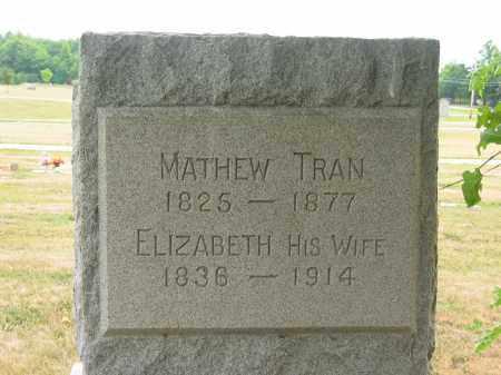 TRAN, ELIZABETH - Lorain County, Ohio | ELIZABETH TRAN - Ohio Gravestone Photos