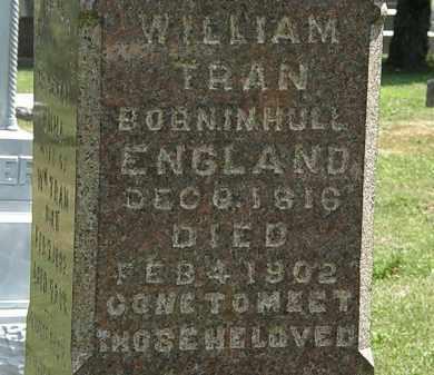TRAN, WILLIAM - Lorain County, Ohio | WILLIAM TRAN - Ohio Gravestone Photos