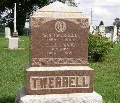 TWERRELL, ELLA J. - Lorain County, Ohio   ELLA J. TWERRELL - Ohio Gravestone Photos